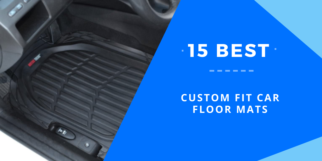All Weather Heavy Duty Floor Mat Set Autotech Park Custom Fit Car Floor Mat Compatible with 2018-2019 Compatible withd EcoSport